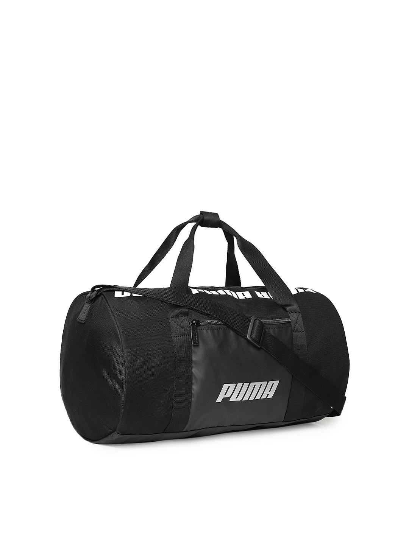 a929cc67ad Buy Puma Women Black Core Barrel S Brand Logo Duffel Bag - Duffel ...