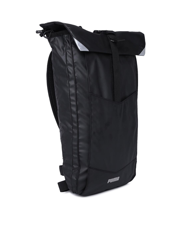43d1fadd28c0 Buy Puma Unisex Black Street Running Laptop Backpack - Backpacks for ...