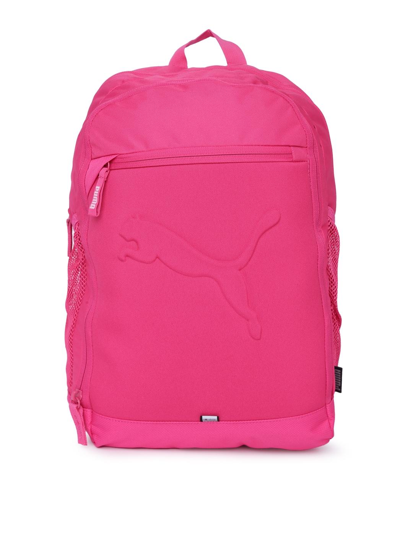 Puma Unisex Pink Buzz Laptop Backpack