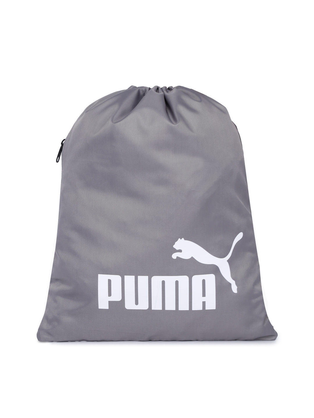 d0c37427236 Buy Puma Unisex Grey Brand Logo Classic Gym Sack - Backpacks for ...