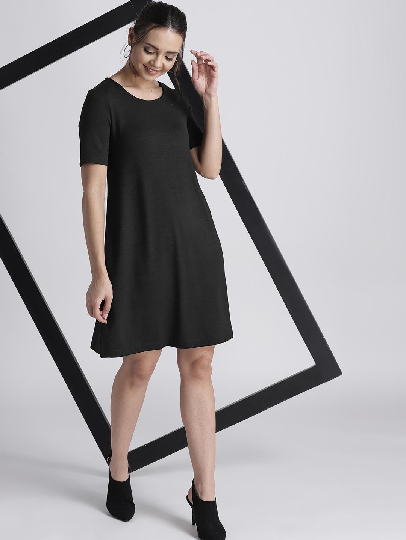 9a5ef16297f7 Buy GAP Women s Softspun Swing Dress - Dresses for Women 8595649 ...