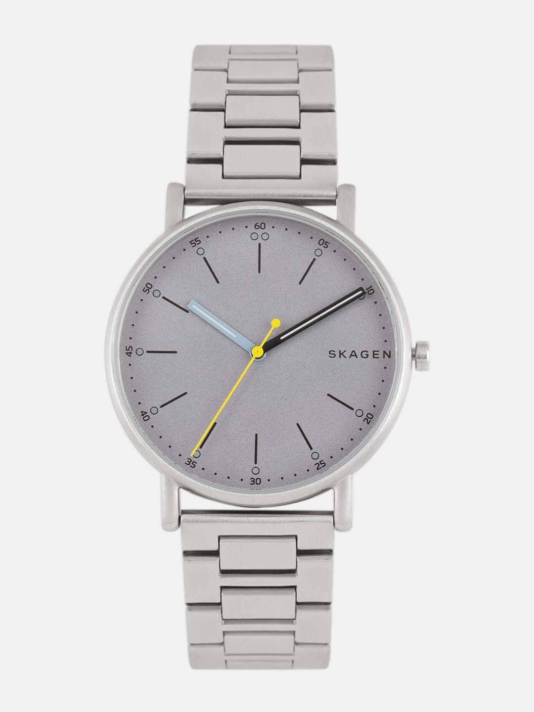 cbc659e798 Buy SKAGEN Men Grey Analogue Watch - Watches for Men 8613069 | Myntra