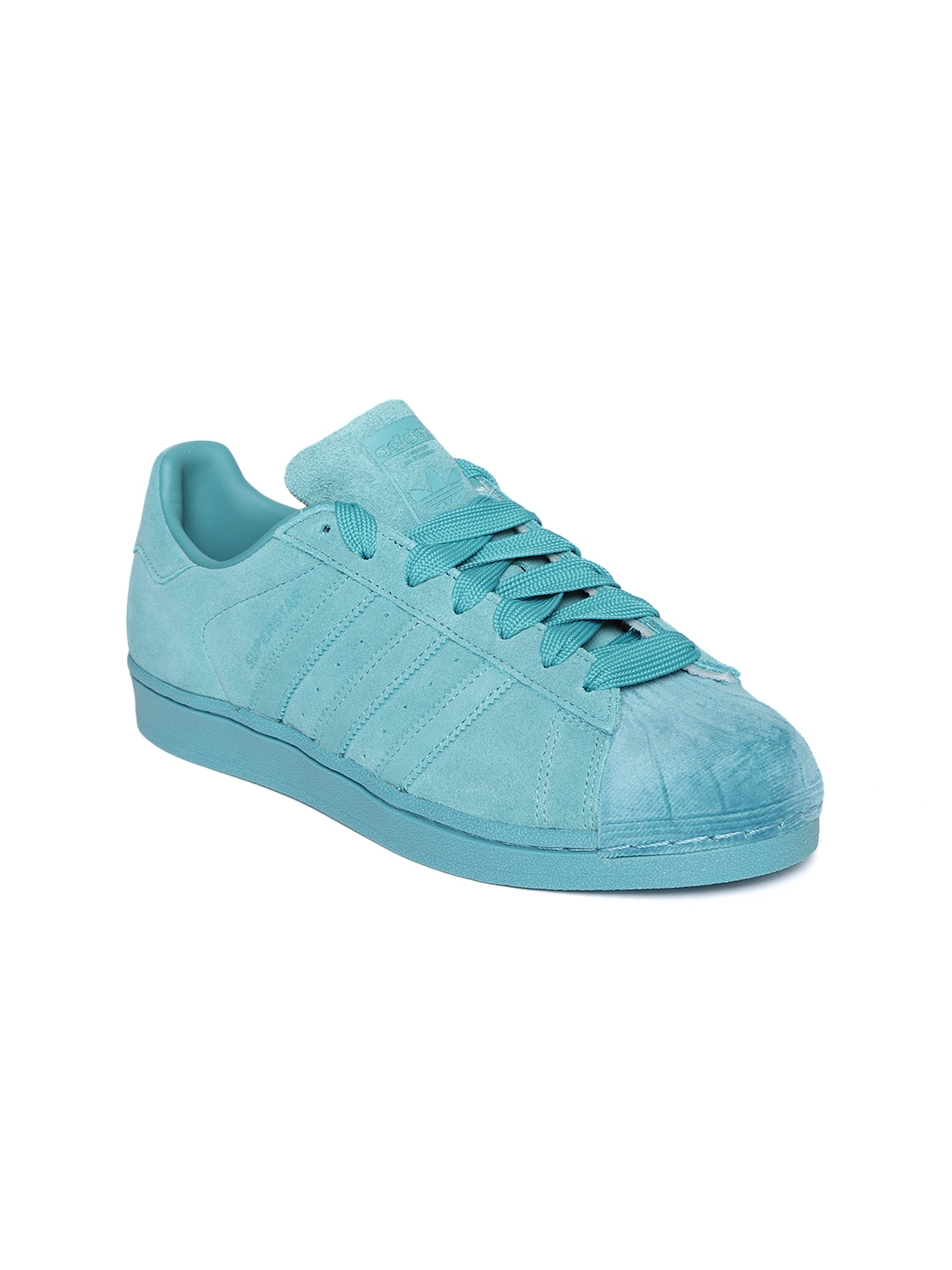 Sur oeste Conciliador mercado  Buy ADIDAS Originals Women Blue Superstar Leather Sneakers - Casual Shoes  for Women 8616553 | Myntra