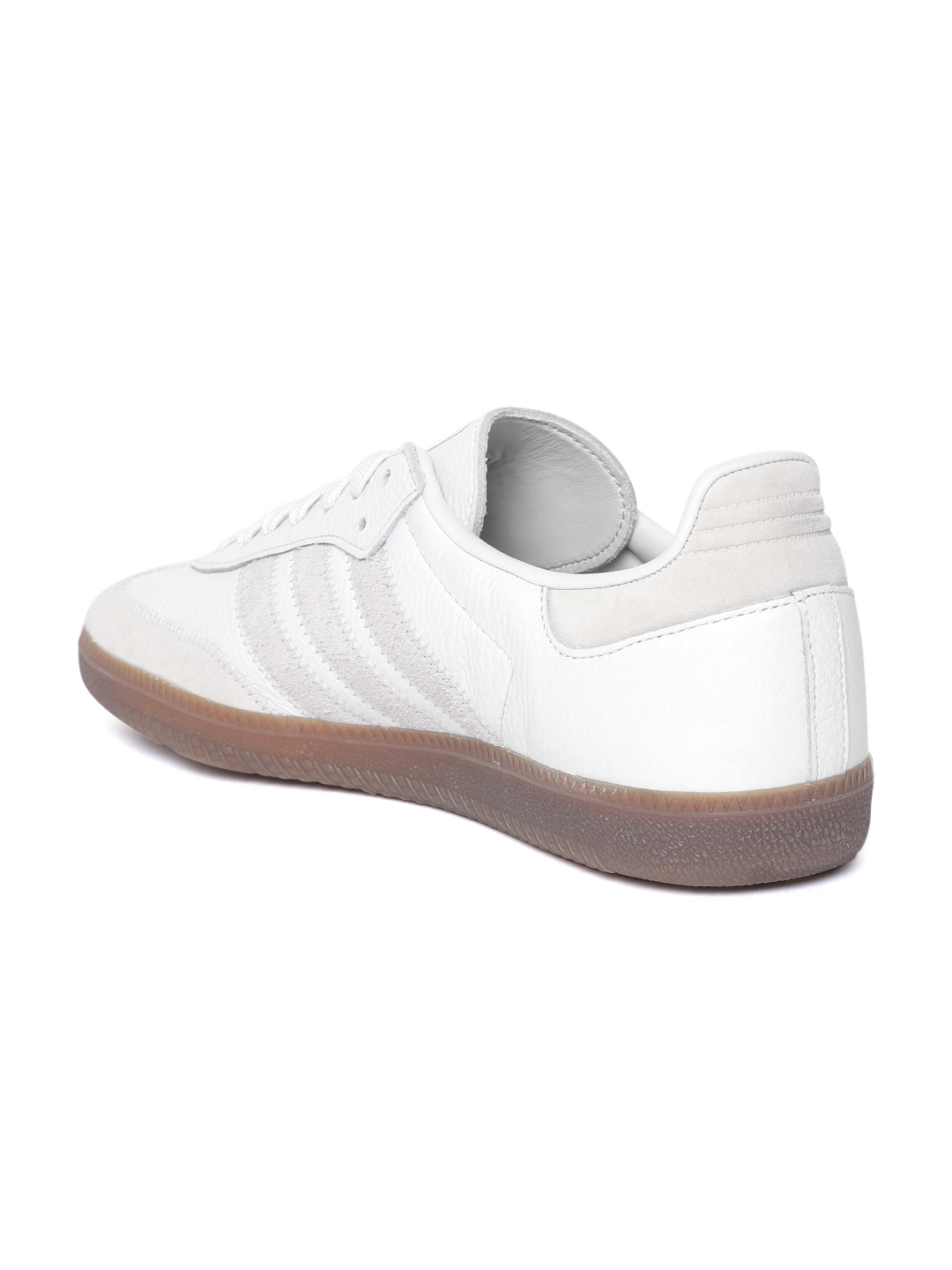 e6c29d181 Buy ADIDAS Originals Men White Samba OG FT Leather Sneakers - Casual ...