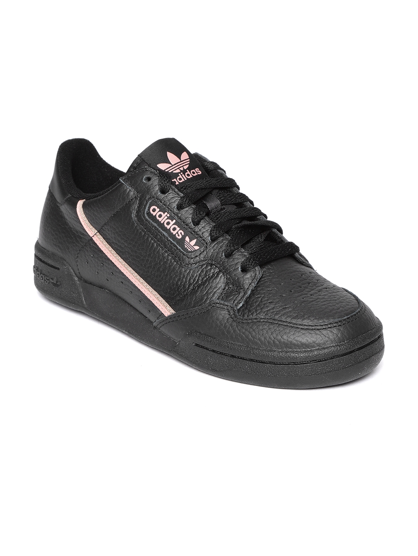 adidas continental 80 all black