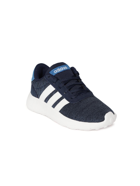 c753ac78d27 Buy ADIDAS Kids Navy Blue LITE RACER K Running Shoes - Sports Shoes ...