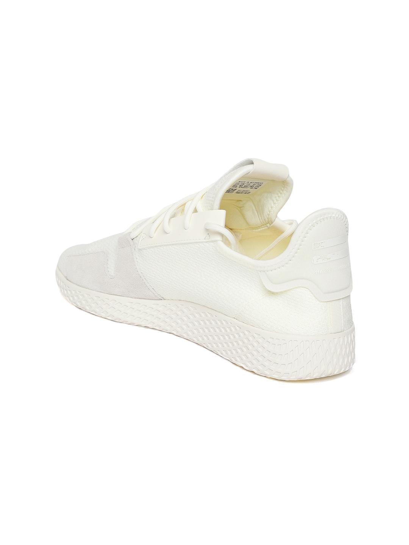 8d899e63a048b Buy ADIDAS Originals Men Off White PW Tennis HU V2 Sneakers - Casual ...