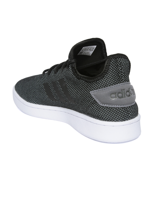 2164360edc34 Buy ADIDAS Men COURT ADAPT Black Sneakers - Casual Shoes for Men ...