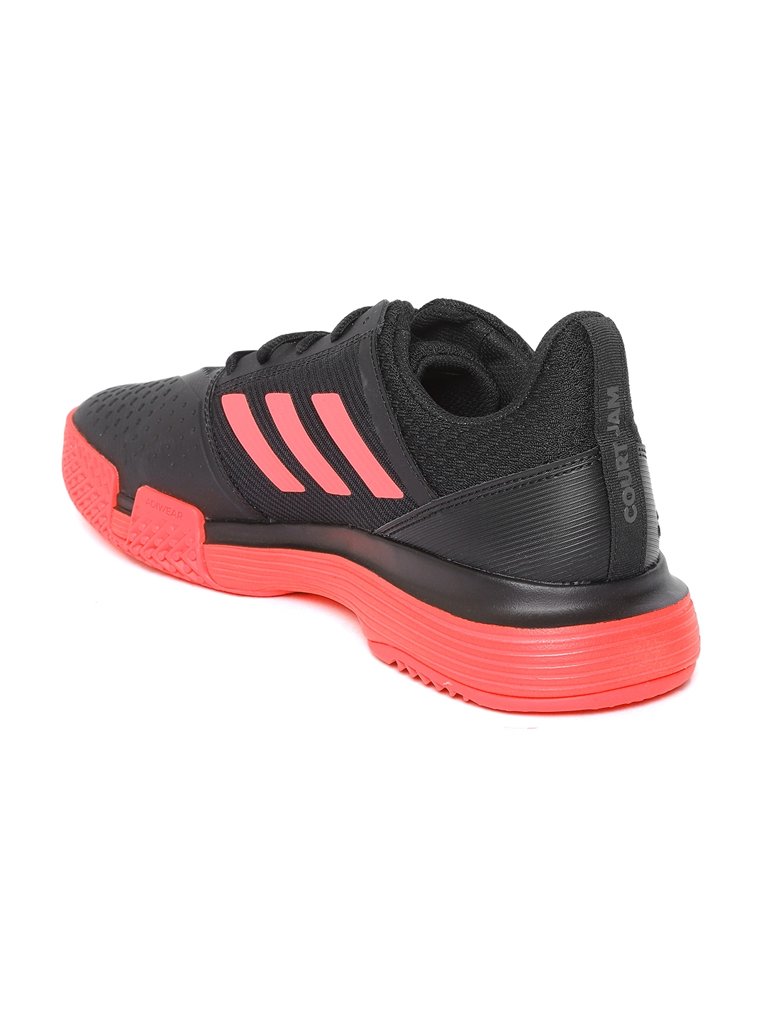 6d827c98f Buy ADIDAS Men Black CourtJam Bounce Tennis Shoes - Sports Shoes for ...