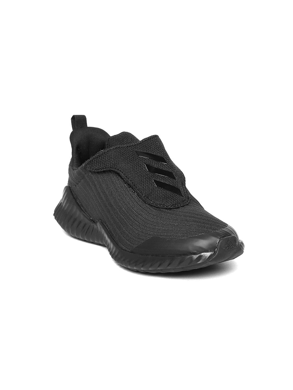 ADIDAS Boys Black Fortarun AC Running Shoes