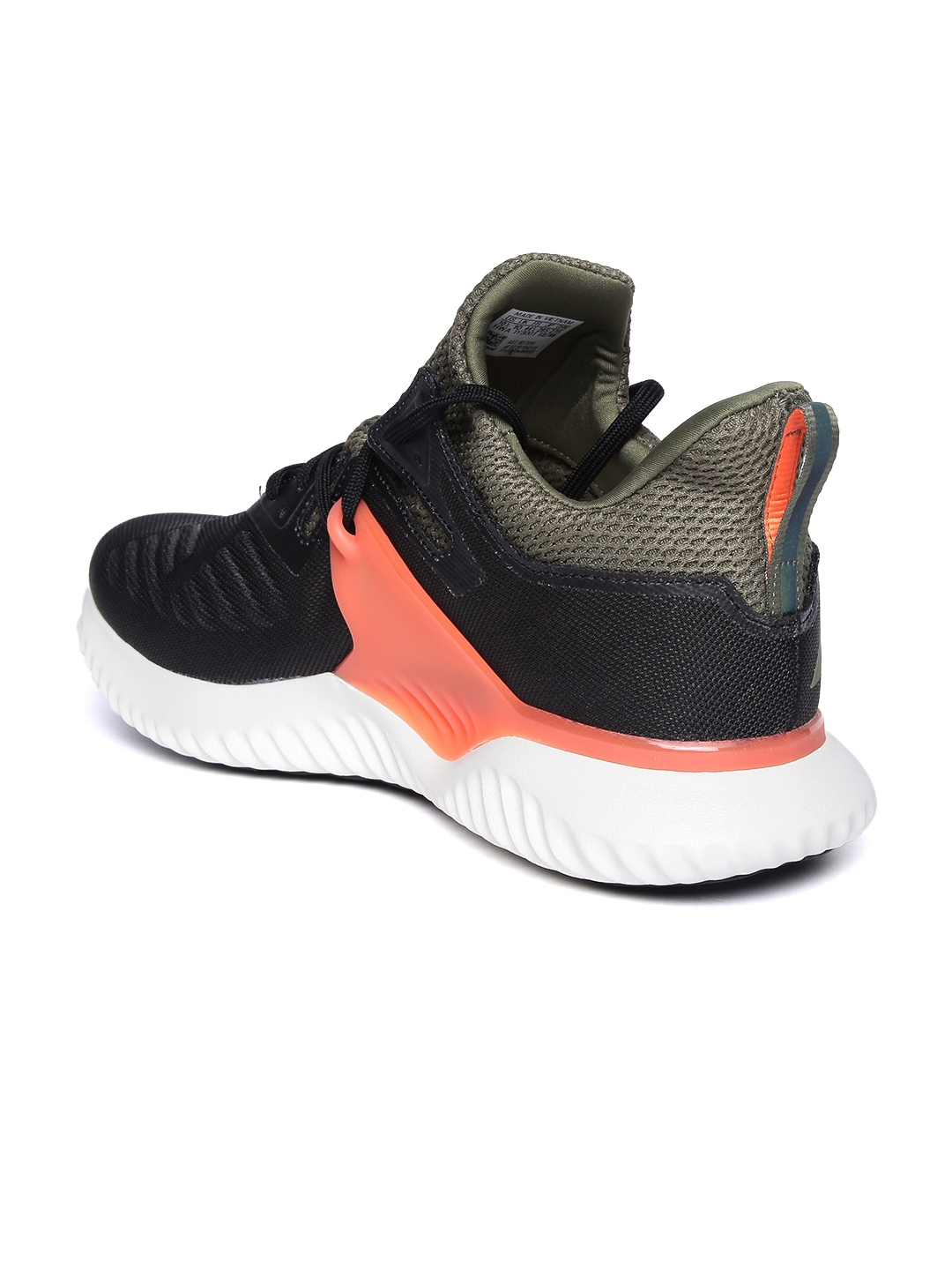 287e11a2a Buy ADIDAS Men Black ALPHABOUNCE BEYOND 2 M Running Shoes - Sports ...