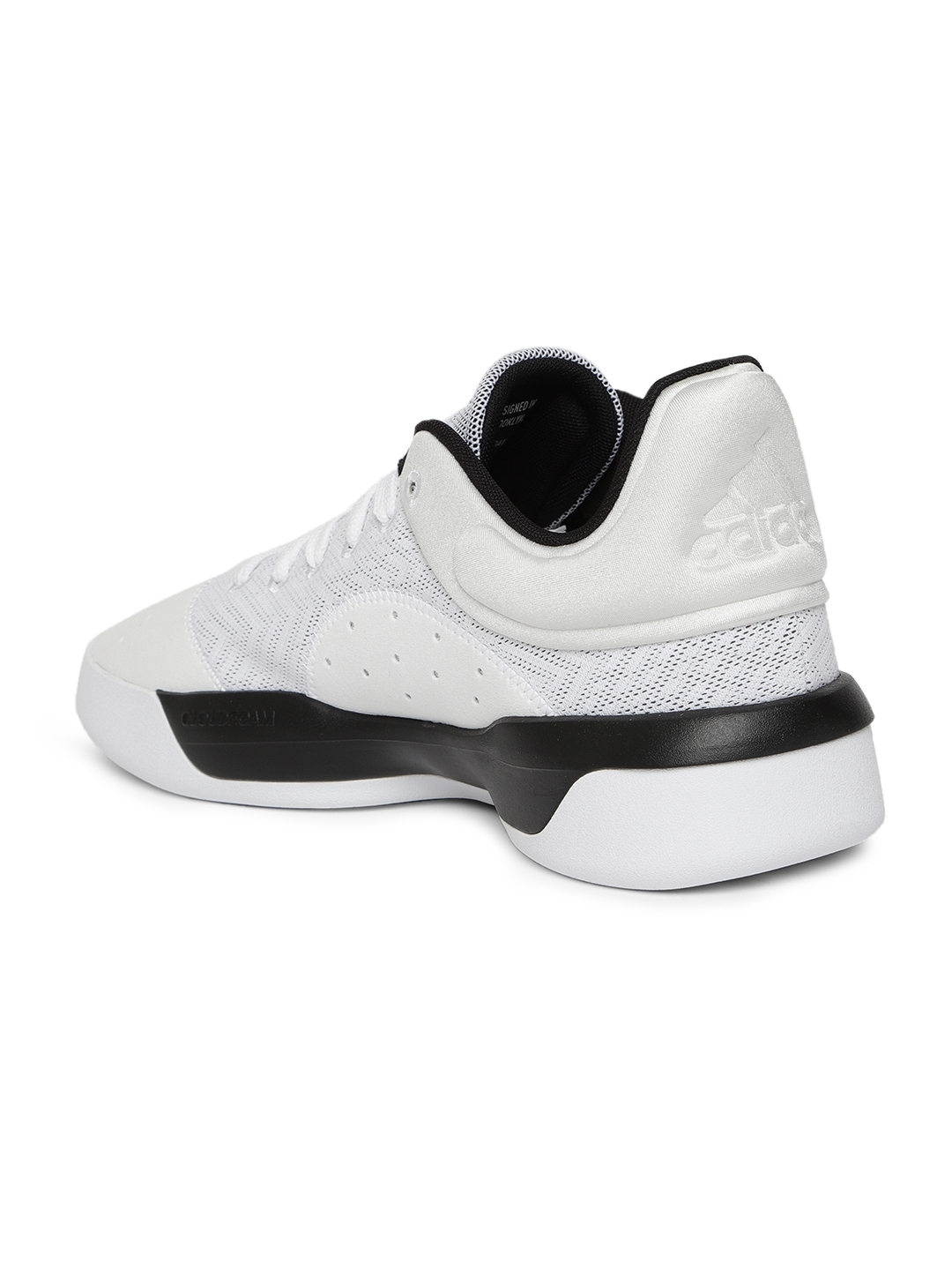 new product 67bbf 63be8 ADIDAS Men White Pro Adversary Low 2019 Basketball Shoes