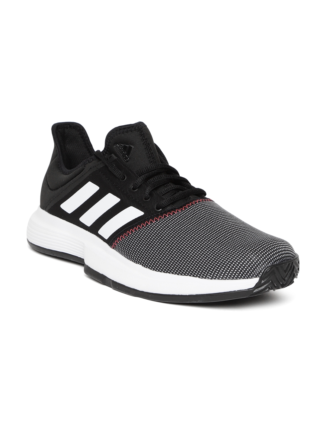 16e094c65e82a Buy ADIDAS Men Black & Grey Gamecourt Tennis Shoes - Sports Shoes ...