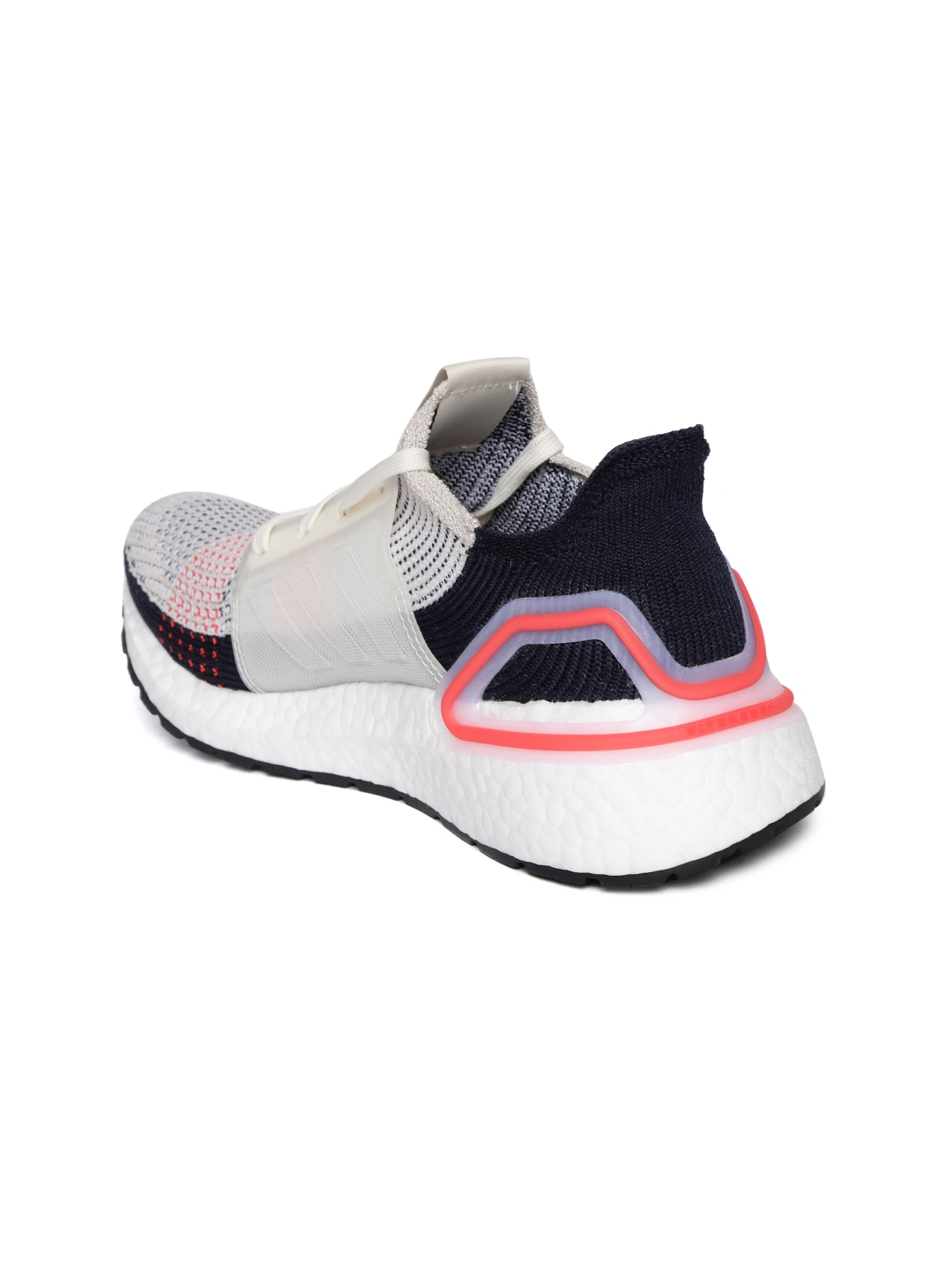4811cadcb02ea Buy ADIDAS Women Off White   Navy Blue Ultraboost 19 Running Shoes ...
