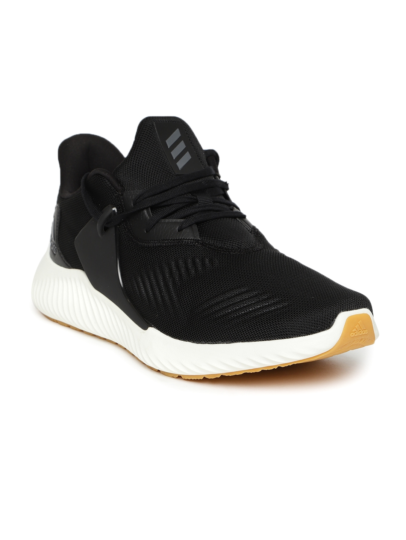 5ed769ff1b7bf Buy ADIDAS Men Black ALPHABOUNCE RC 2 M Running Shoes - Sports Shoes ...