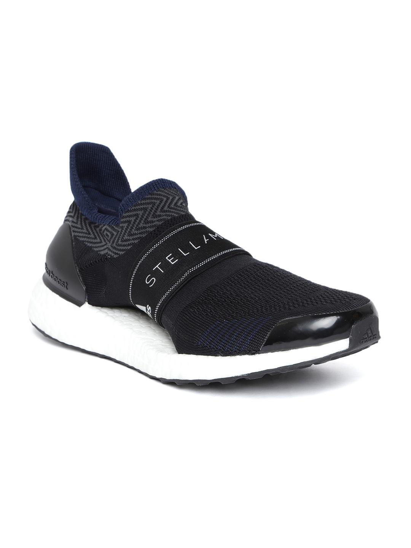 new product e850a c87dc ADIDAS Stella McCartney Women Black Ultraboost X 3.D. S. Running Shoes