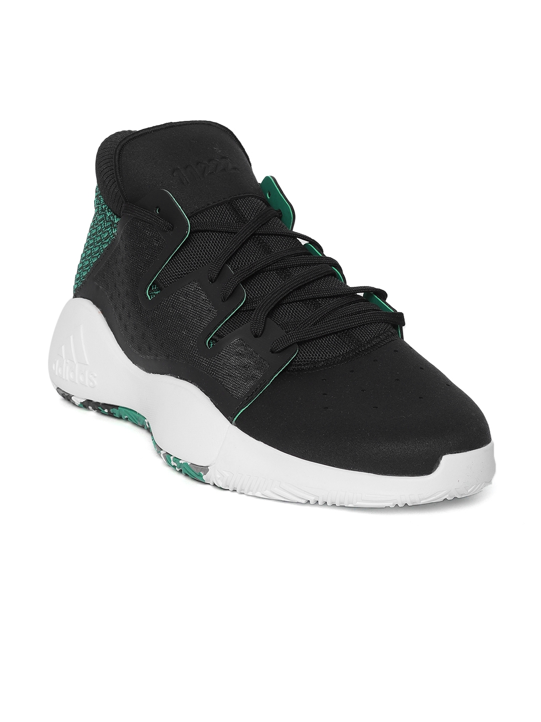 outlet store 25d7a 7c78f ADIDAS Men Black Pro Vision Basketball Shoes