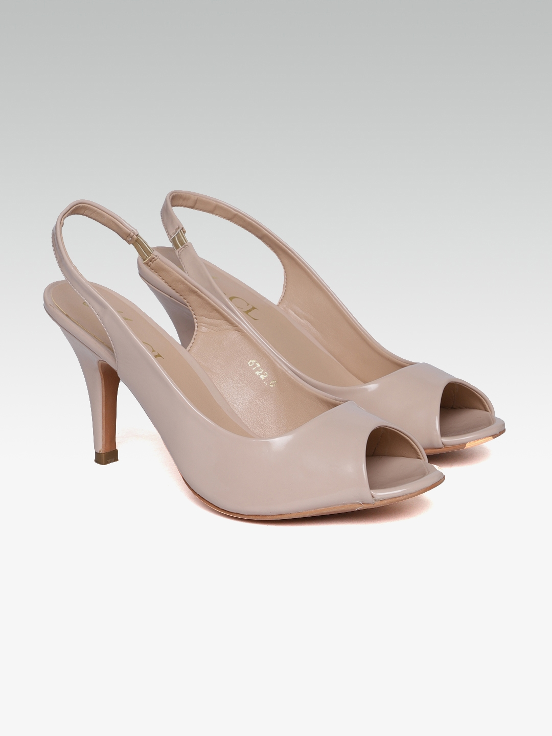 d035d2ff6f Buy Carlton London Women Nude Coloured Solid Peep Toes - Heels for ...