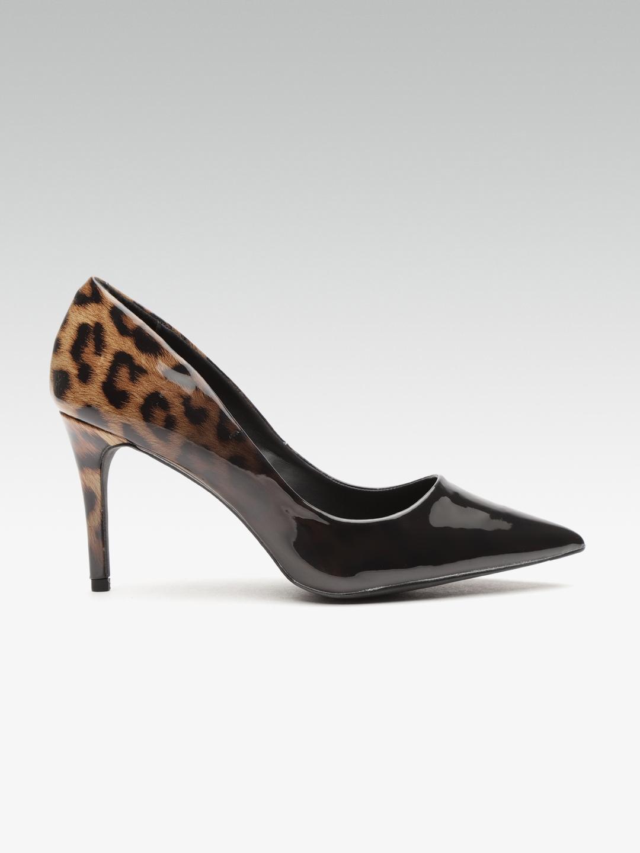 02246c672217 Buy DOROTHY PERKINS Women Black Leopard Print Pumps - Heels for ...