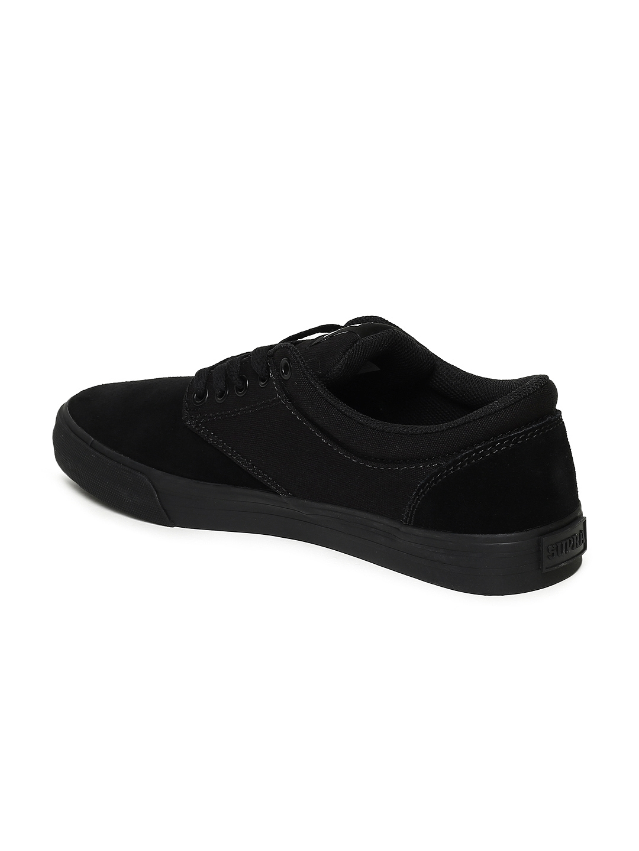 7ac497c49360 Buy Supra Men Black Chino Skateboarding Shoes - Sports Shoes for Men ...