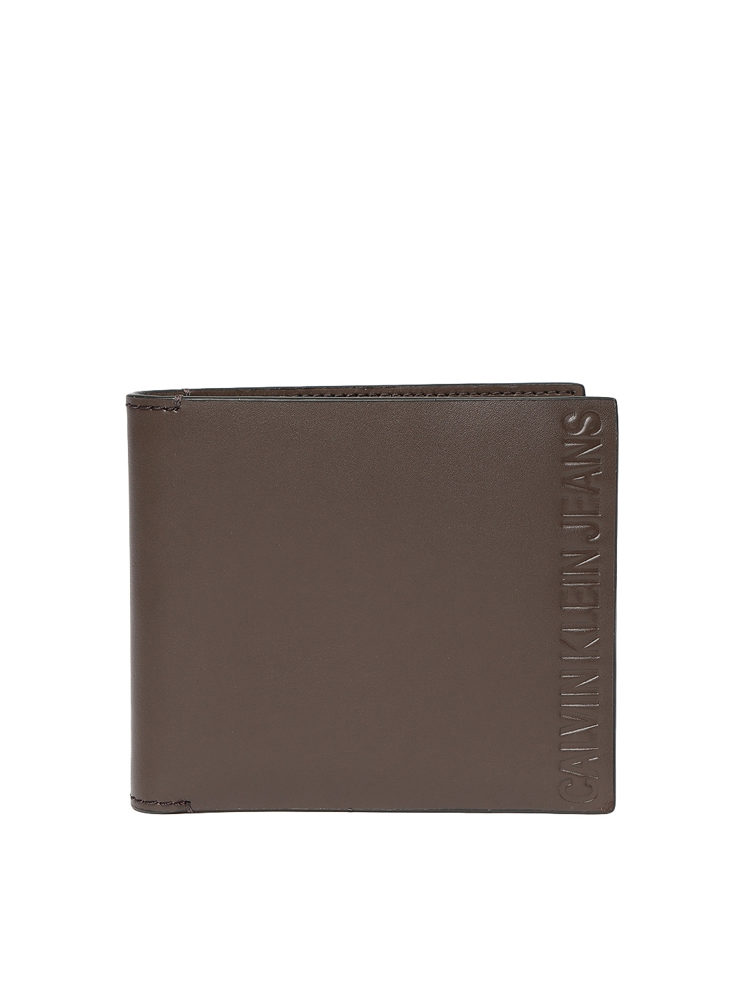 1e90adcf81c Buy Calvin Klein Men Brown Solid Leather Two Fold Wallet - Wallets ...