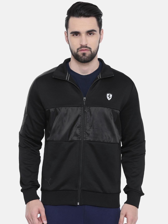 9a986ac6 Buy Puma Men Black Ferrari T7 Track Jacket - Jackets for Men 8748947 ...