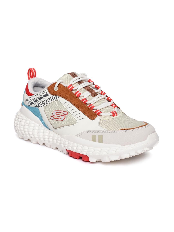 Buy Skechers Men White MONSTER Sneakers
