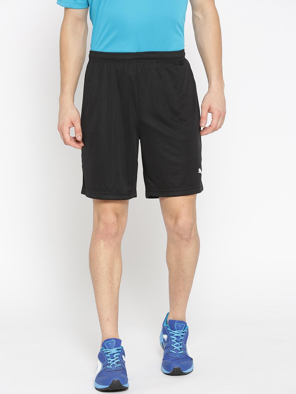 Puma Men Black Solid ftblPLAY Sport Shorts