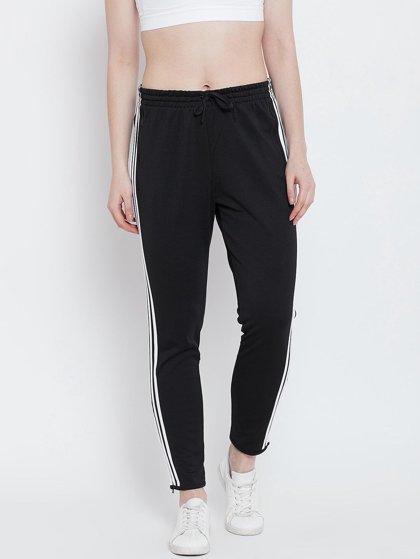317f0b864923 Buy ADIDAS Women Black Solid W ID STRIKER Track Pants - Track Pants ...