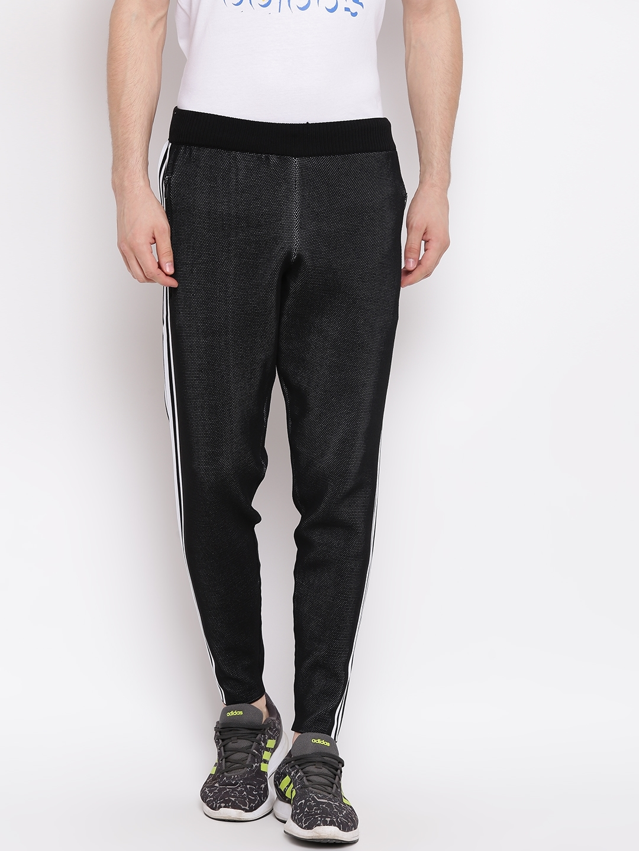 63cc2a85 Buy ADIDAS Men Black ID KNIT TP Sports Track Pants - Track Pants for ...