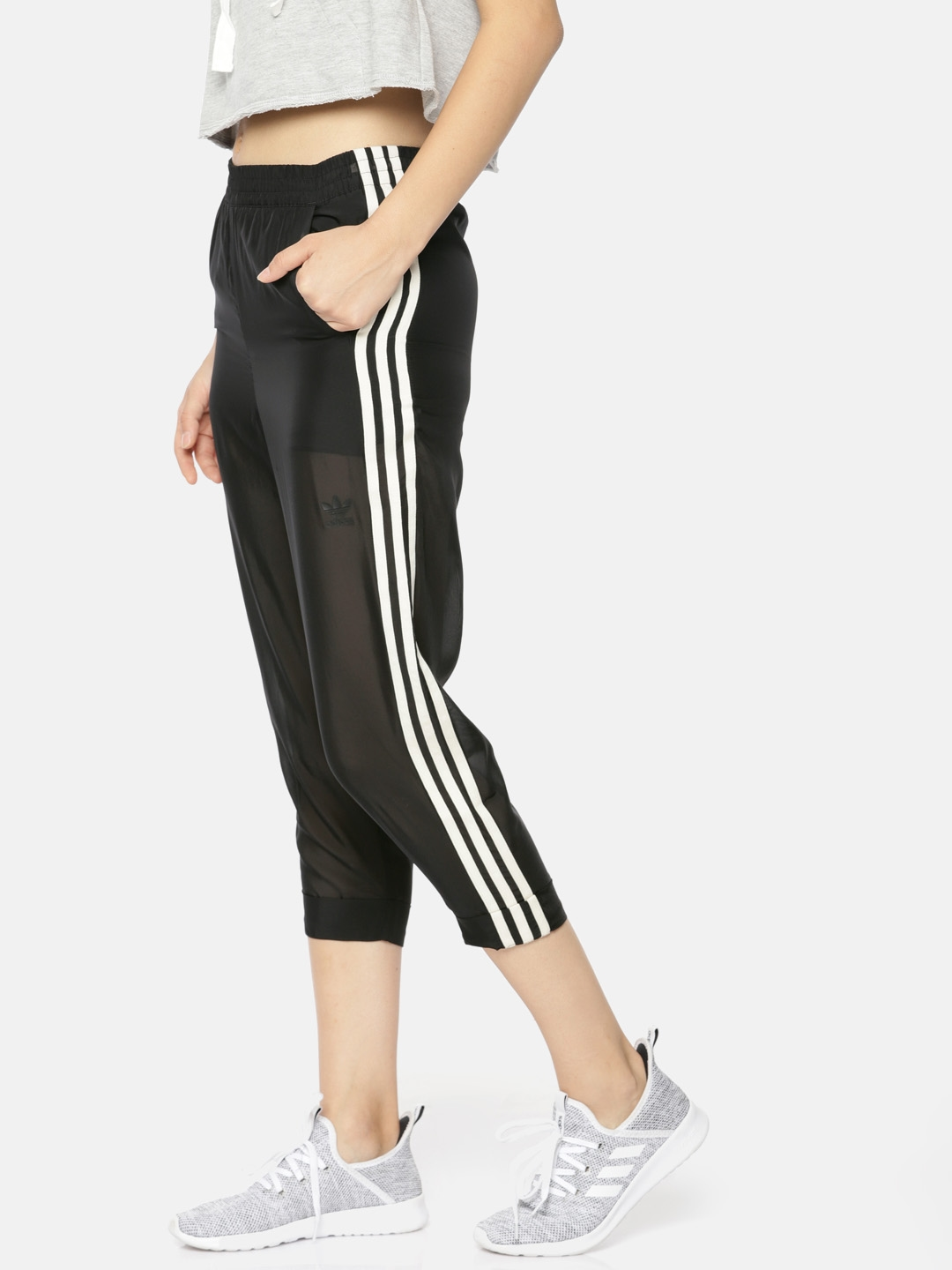 Dónde Continental Electricista  Buy ADIDAS Originals Women Black Regular Fit Solid Track Pants - Track  Pants for Women 8808955 | Myntra