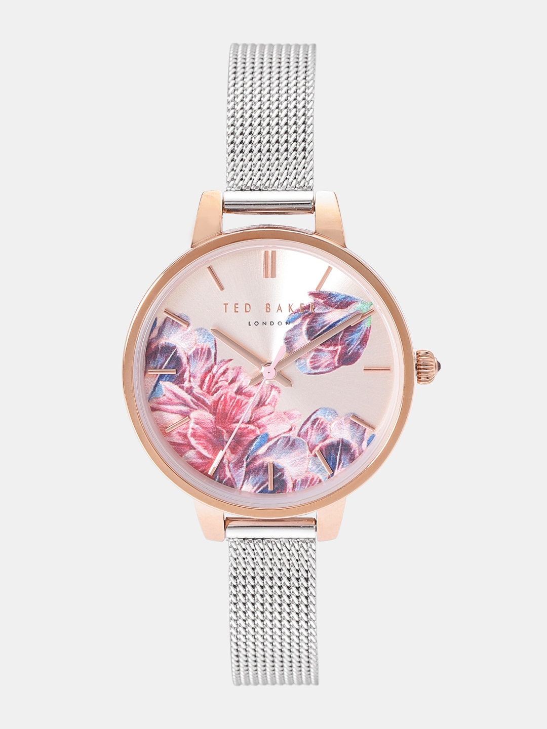 87020131a8a Buy Ted Baker Women Gold Toned & Pink Analogue Watch TE50070001 ...