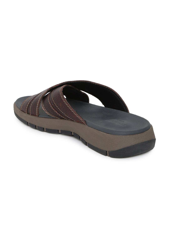 8550d686ee11 Buy Clarks Men Brown Brixby Cross Sandals - Sandals for Men 8857305 ...