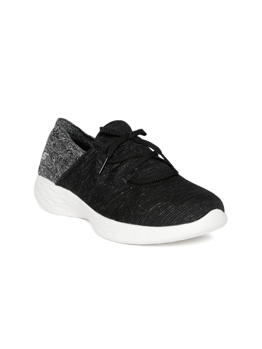 harto Pobreza extrema Eclipse solar  Buy Skechers Women Black You Revere Sneakers - Casual Shoes for Women  8886133 | Myntra