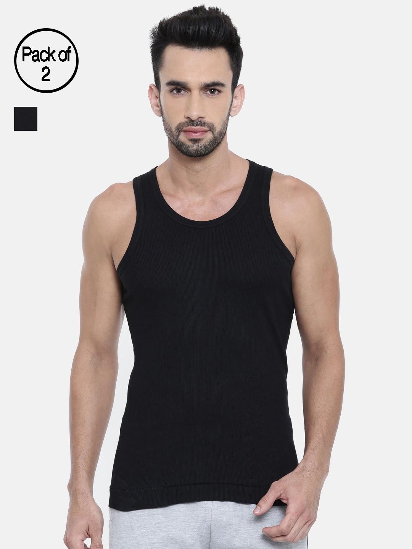DIXCY SCOTT Men Pack of 2 Innerwear Vests K1 PR4480BA
