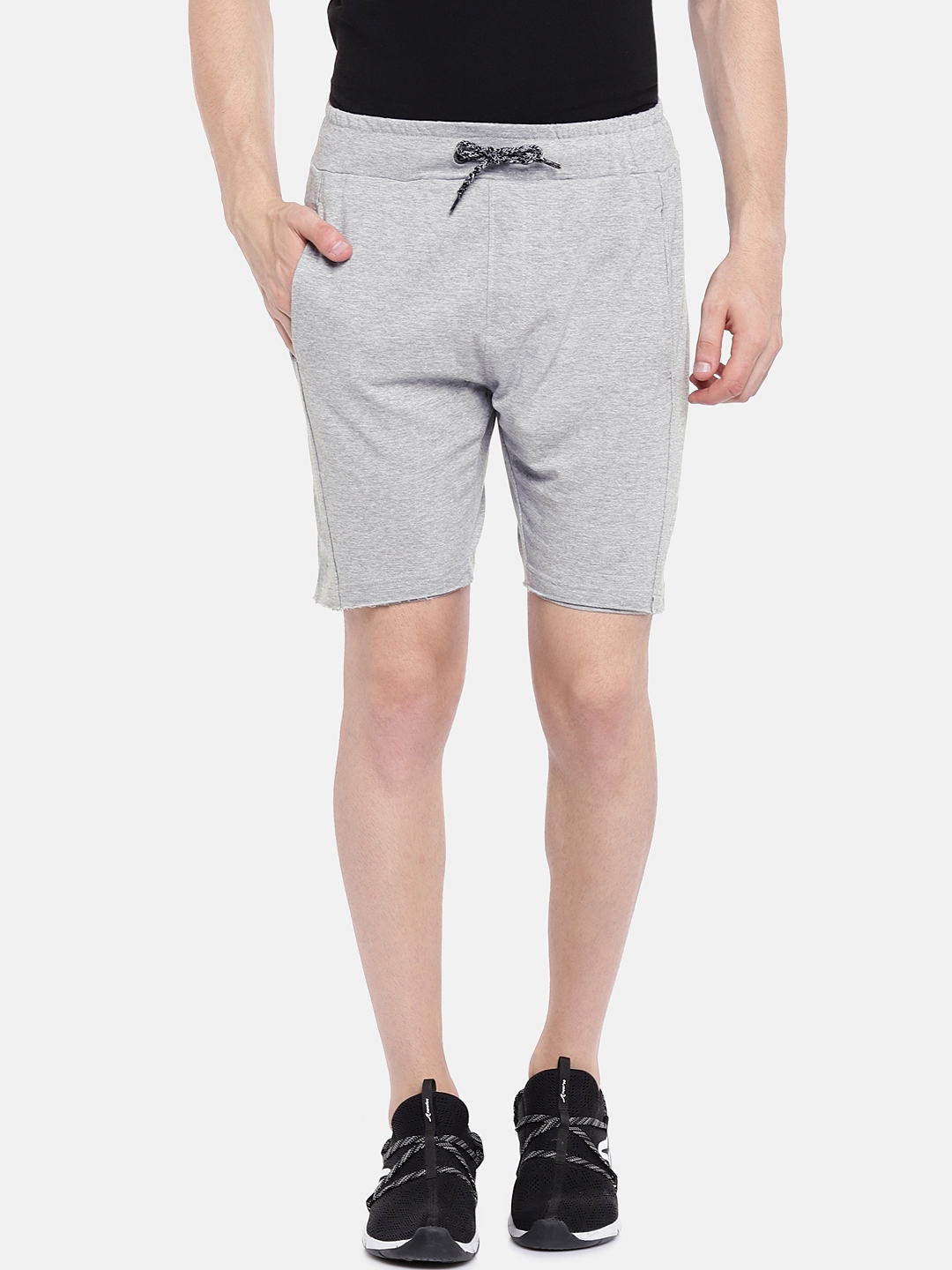 Pepe Jeans Men Grey Solid Shorts