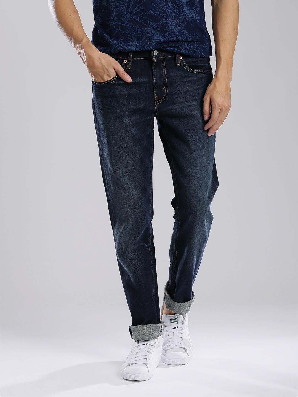 749bf86688a Buy Levis Men Navy 511 Slim Fit Low Rise Clean Look Jeans - Jeans ...