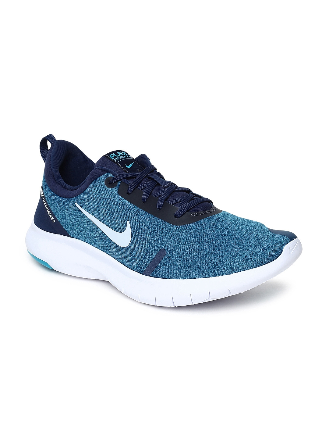 82e7a9e5b12eb Buy Nike Men FLEX EXPERIENCE RN 8 Blue Running Shoes - Sports Shoes ...
