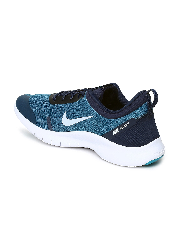 06a5d99e25cd8 Buy Nike Men FLEX EXPERIENCE RN 8 Blue Running Shoes - Sports Shoes ...
