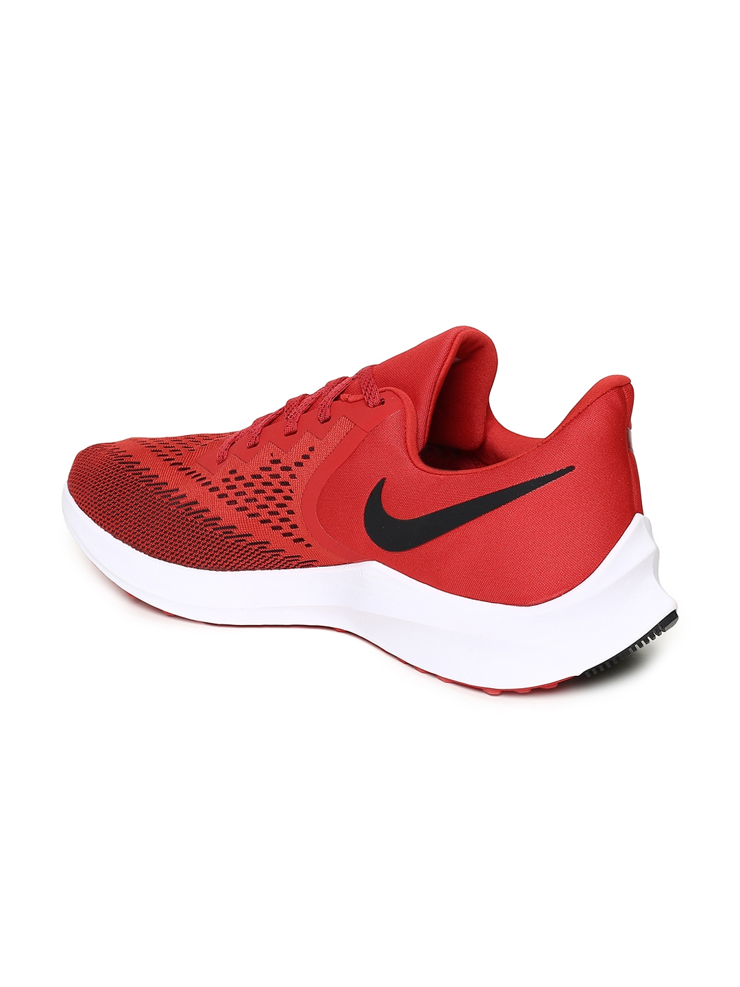 timeless design 1fe2c 28e8a Nike Men Red ZOOM WINFLO 6 Running Shoes
