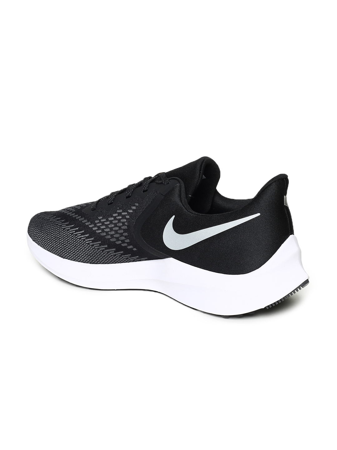 93118362 Buy Nike Men Black ZOOM WINFLO 6 Running Shoes - Sports Shoes for ...