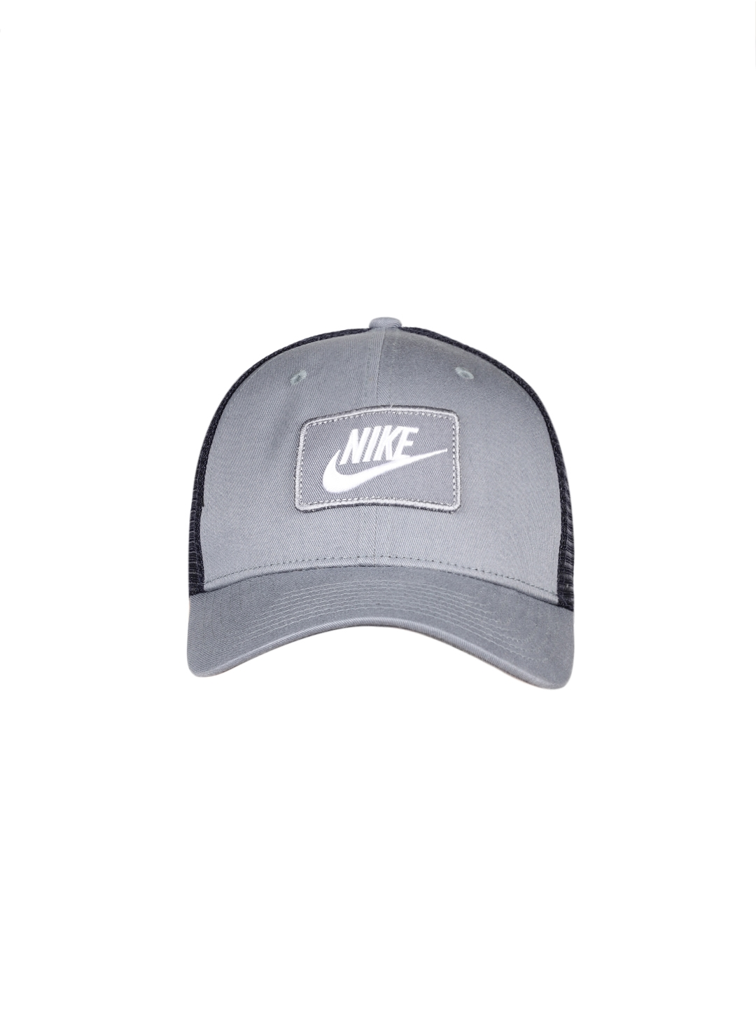 classic authentic quality huge selection of Nike Unisex Grey & Blue NSW CLC99 TRUCKER Baseball Cap