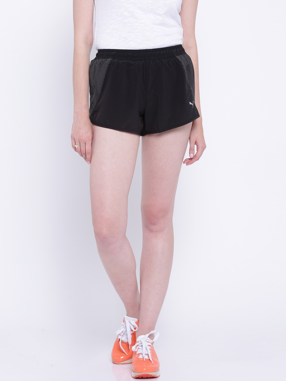 sports shoes 8f314 d1eed PUMA Black NightCat Running Shorts