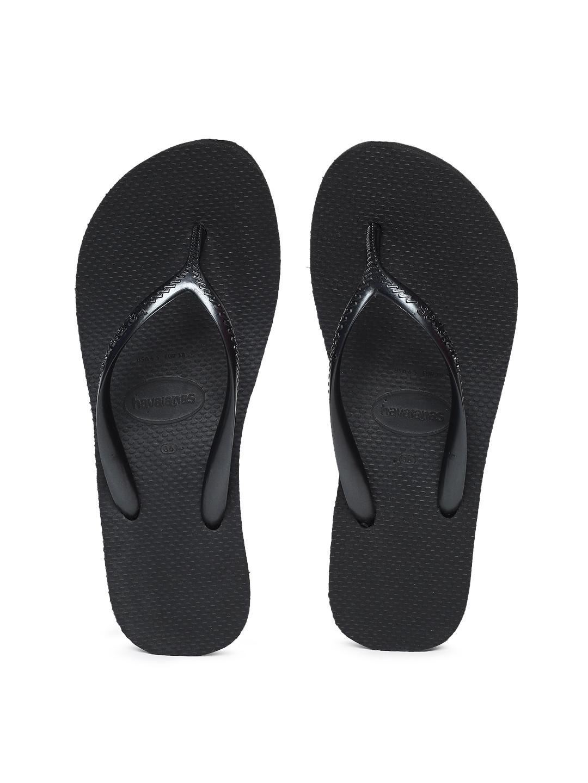Havaianas Women Hi Fashion Black Solid Wedge Sandals