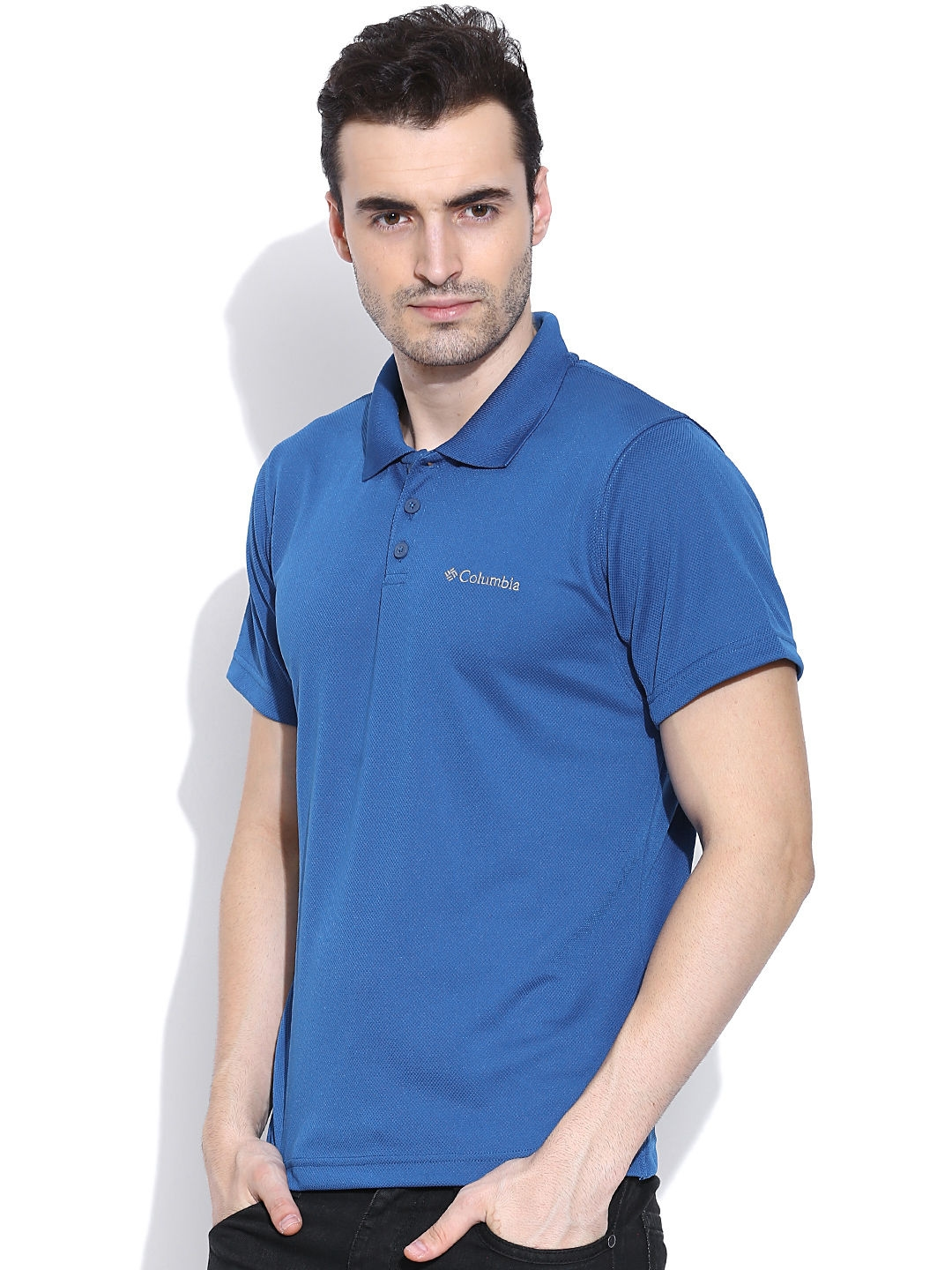 0f343aa3 Buy Columbia Blue New Utilizer Polo Outdoor T Shirt - Tshirts for ...