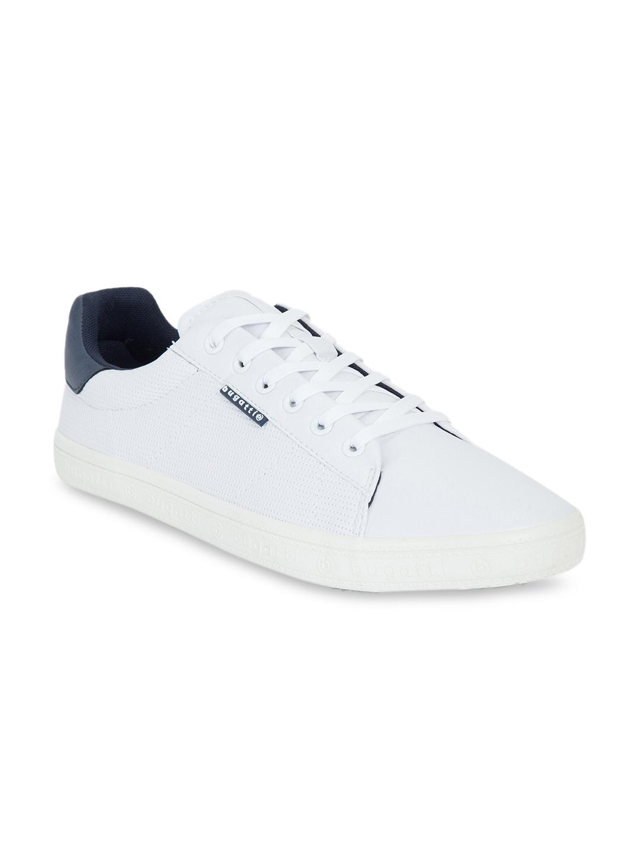 Buy Bugatti Men White Sneakers - Casual