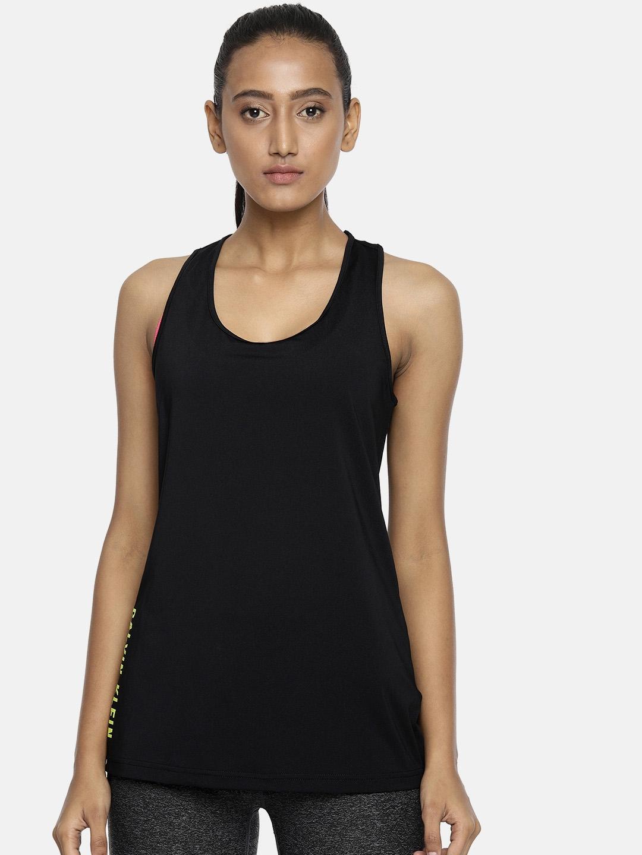 3cc8e842dd Buy Calvin Klein Jeans Women Black Solid Tank Top - Tops for Women ...