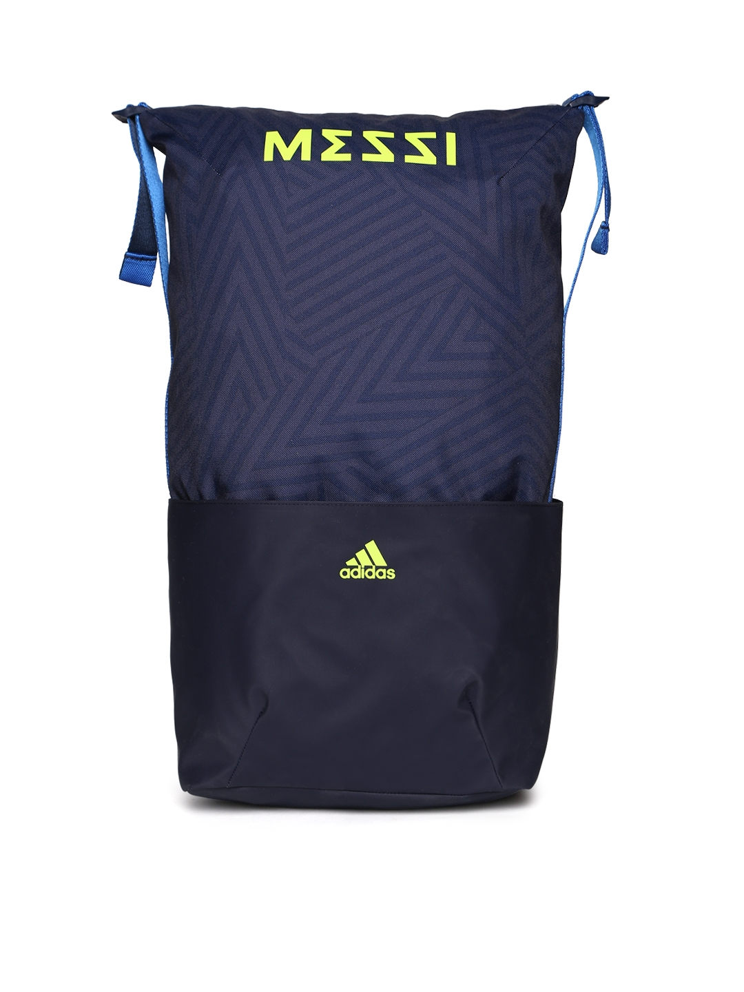 ADIDAS Boys Navy Blue Messi Printed Backpack