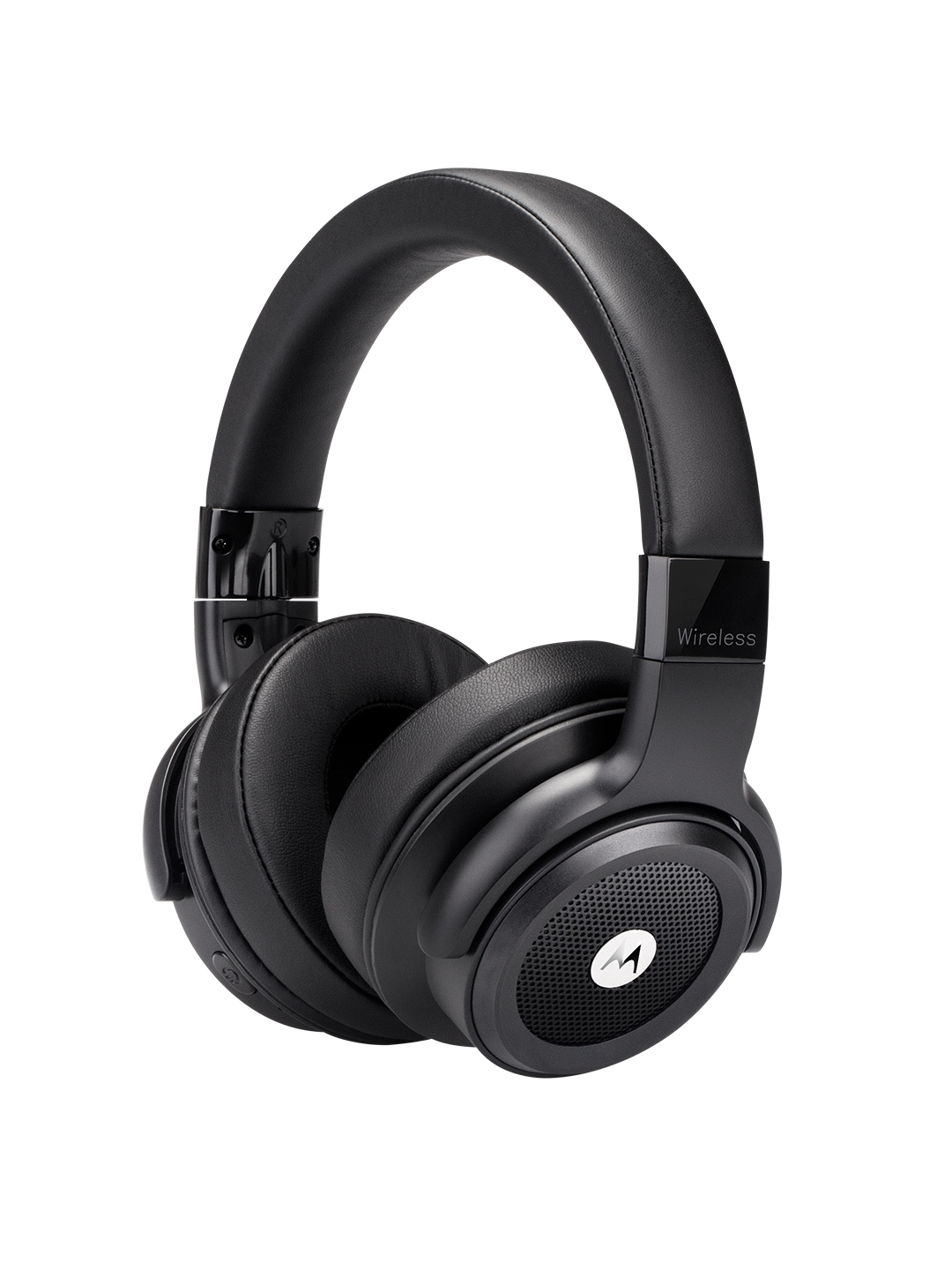 Motorola Black Escape 800 ANC Wireless Active Noise Cancellation Headphones with Google Assistant
