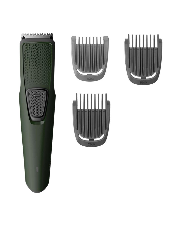 Philips Men BT1212/15 Series 1000 USB Charging Cordless Beard Trimmer   Green